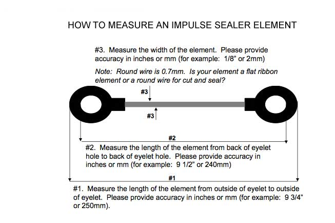 impulse sealers lengths troubleshooting guide rh dougcare com 3-Way Switch Wiring Diagram Simple Wiring Diagrams