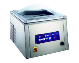 mvs-45 single chamber vacuum machine. one 17-3/4 inch seal bar - Uses standard flat vacuum pouches