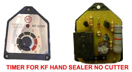 Parts For KF model Hand Impulse Sealers