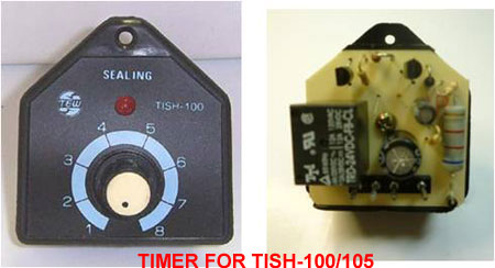 Parts For TISH Hand Impulse Sealers