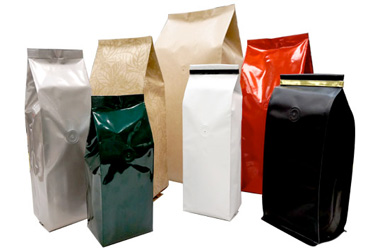 Side Gussetted Bags Great For Coffee Or Tea Packaging